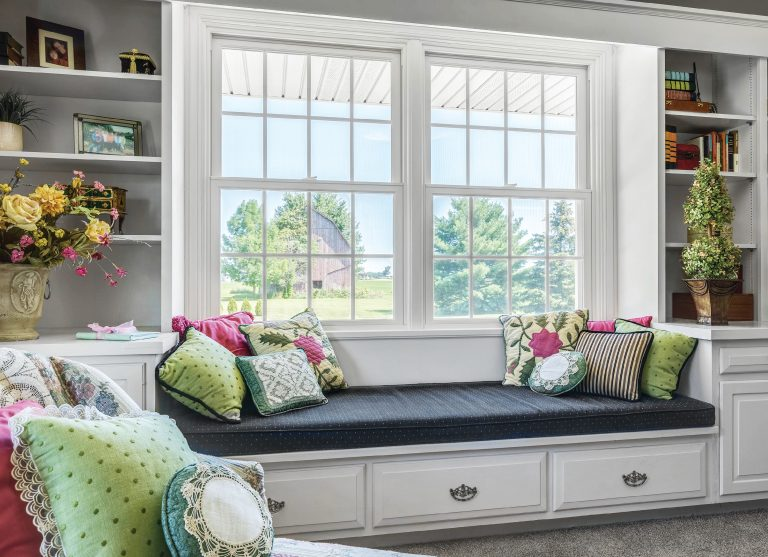 Beautiful Picture Window in Living Room