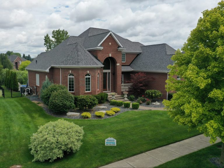 Large Brick Home with Roofing Guarantee