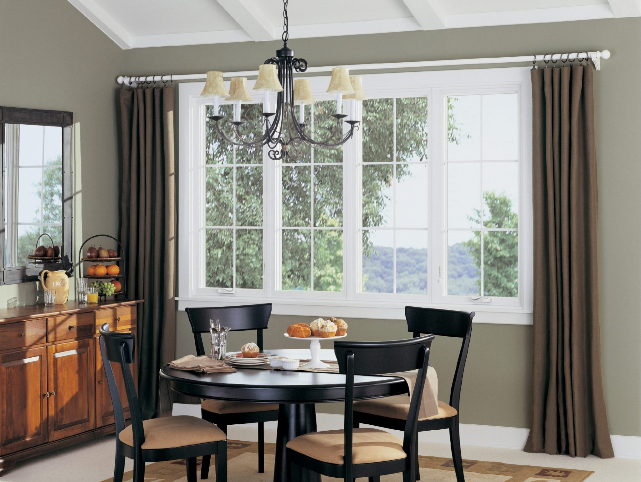 Replacement Windows in Dining Room